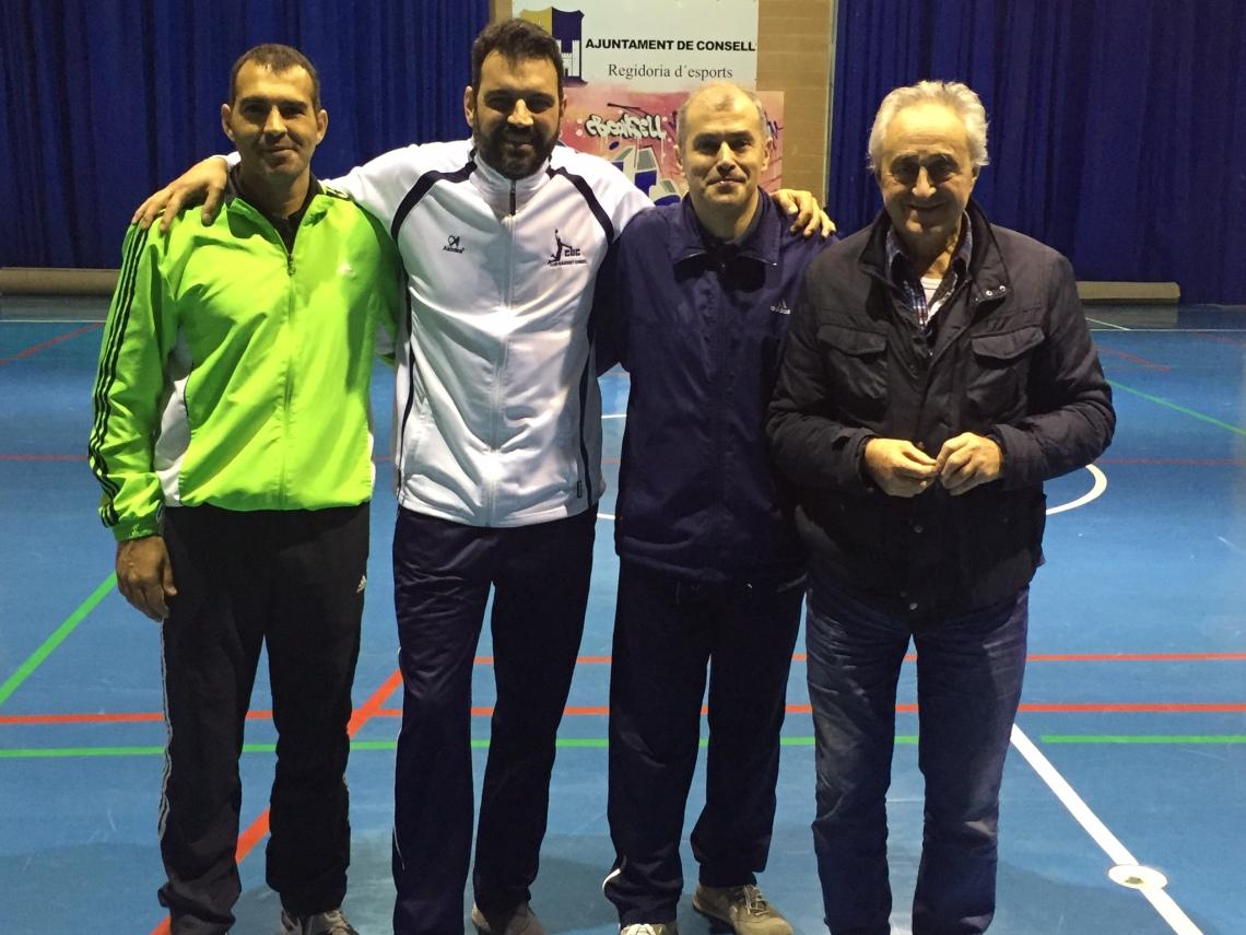 Pepe Laso, Quique Fernadez, Suso Seoane y Alex Pérez
